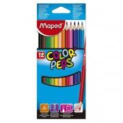 Lápis de Cor 12 cores Colorpeps Maped