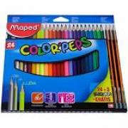 Lápis de Cor 24 cores Colorpeps Maped
