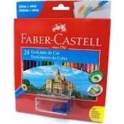 Lápis de Cor 24 cores Faber Castell