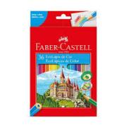 Lápis de Cor 36 cores Faber Castell