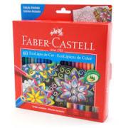 Lápis de Cor 60 cores Faber Castell