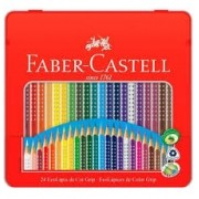 Lápis de Cor Grip 24 cores Faber Castell