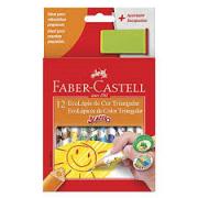 Lápis de Cor Jumbo 12 cores Faber Castell