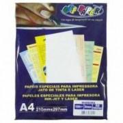 Papel Antílope Branco A4 180g Pacote 50 Folhas