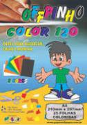 Papel Criativo Offpinho Color A4 75g Oito Cores Pacote 45 Folhas