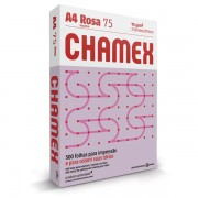 Papel Sulfite 75g A4 Chamex Rosa