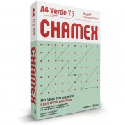 Papel Sulfite 75g A4 Chamex Verde