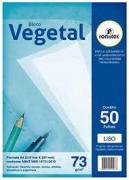 Papel Vegetal A4 63g Pacote 50 Folhas
