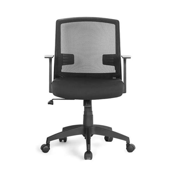 Cadeira Giratória c/Braços Preto