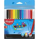 Canetinhas Hidrográficas 12 cores Colorpeps