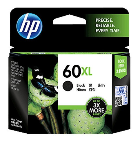 CARTUCHO HP 60XL PRETO