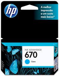 CARTUCHO HP 670 CIANO