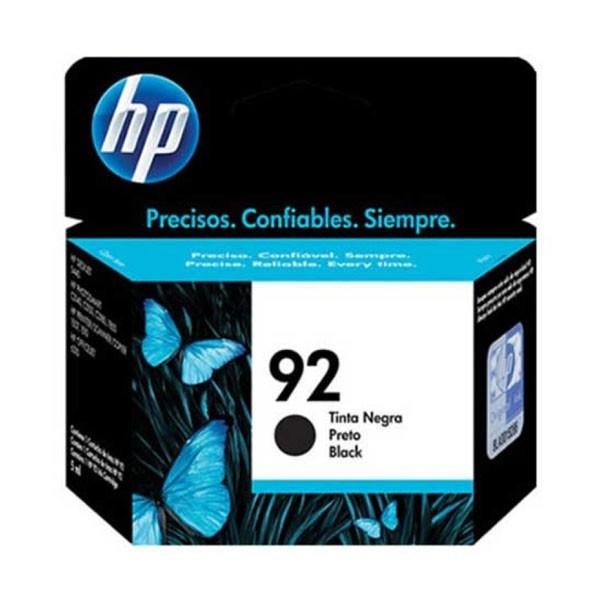 CARTUCHO HP 92 PRETO