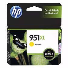 CARTUCHO HP 951XL AMARELO