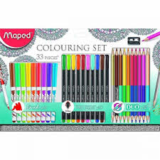 Conjunto de colorir 33 peças Maped