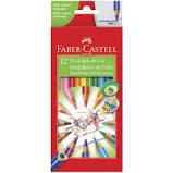 Lápis de Cor 12 cores super ponta Faber Castell