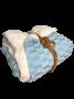 Edredom Sherpa Azul Bebê Hedrons