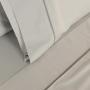Jogo de Lençol Percal Total Mix Clean Cinza Escuro Artex
