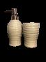 Kit de Banheiro de Cerâmica 2 peças Art Areia