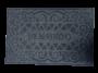 Tapete Capacho de Porta 40x60 cm Bem Vindo Ônix