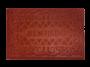 Tapete Capacho de Porta 40x60 cm Bem Vindo Vermelho