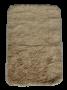 Tapete para Banheiro 40x60cm 100% Algodão Areia JR