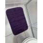 Tapete para Banheiro 40x60cm 100% Algodão Roxo JR
