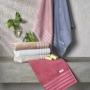 Toalha de Banho Fio Penteado Aurora Artex - Rosa Escuro