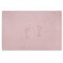 Toalha de Piso Pezinho Appel - Rosa Cristal