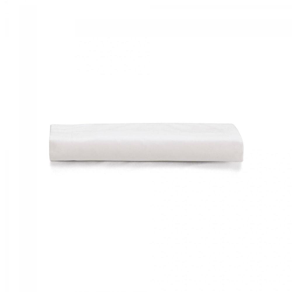 Lençol de Elástico Liss Branco Karsten