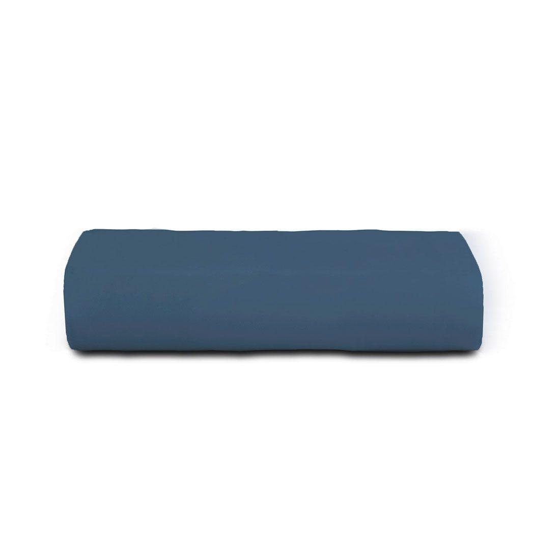 Lençol de Elástico Toque Acetinado Azul Altenburg