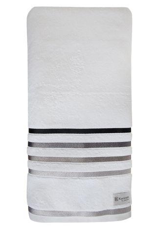 Toalha de Banho Fio Penteado Lumina Karsten - Branca