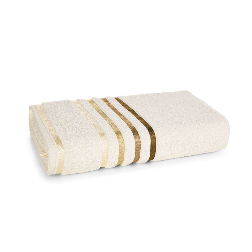 Toalha de Banho Fio Penteado Lumina Karsten - Ivory