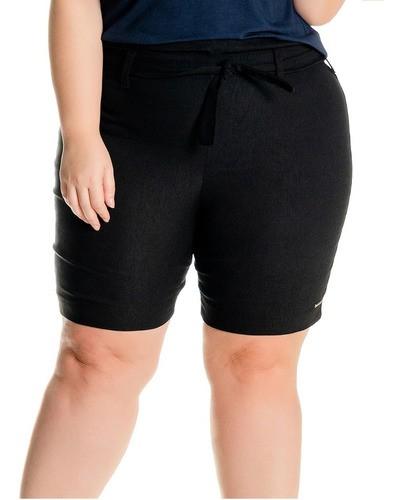 102527 Shorts Bengaline Plus Size Clochard