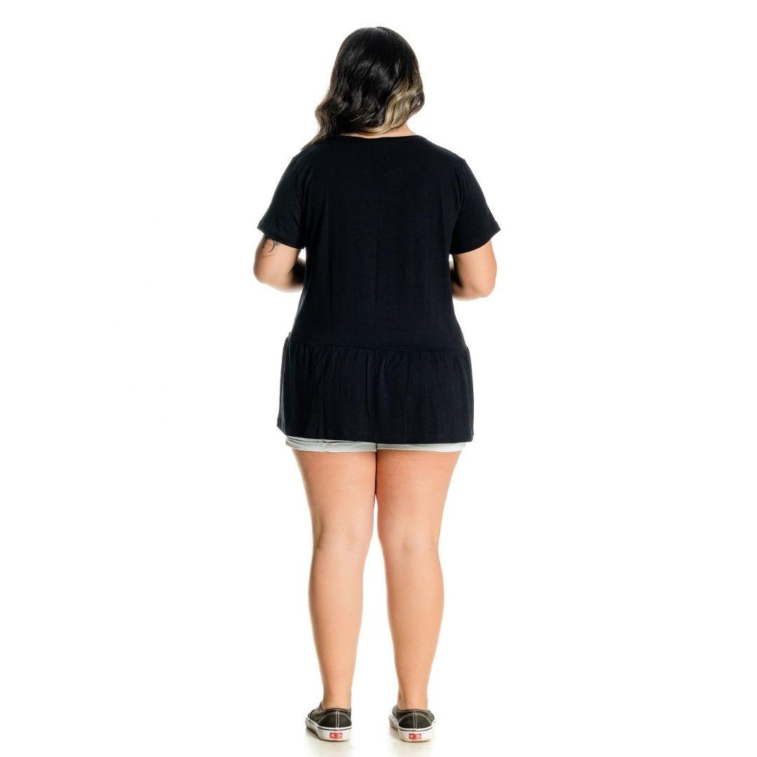 Bata Soltinha Plus Size com Strass 102543