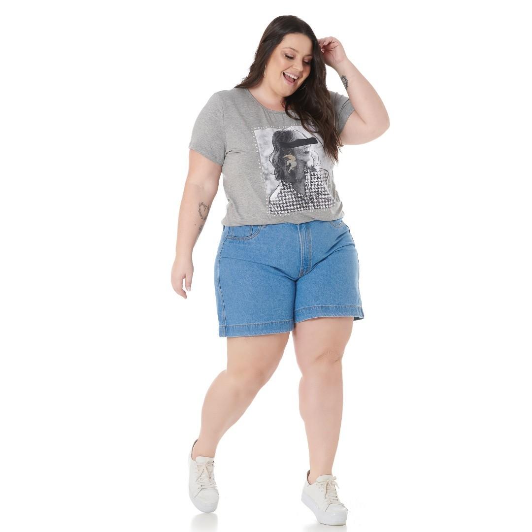Blusa com estampa Mulher 102579