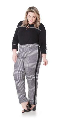Calça Feminina Plus Size 101557