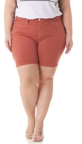 82563-Bermuda Shorts Color Jeans