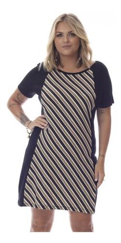 92574-Vestido Feminino Plus Size