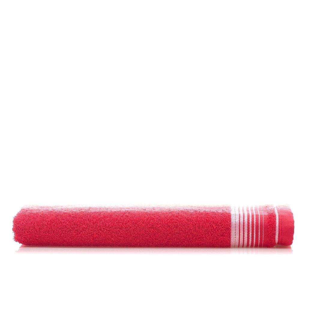 1 Toalha de Banho Vermelho