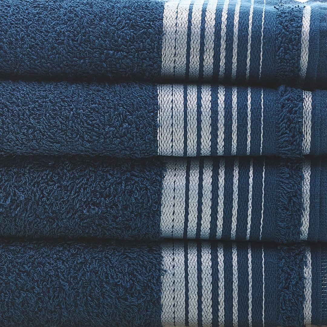 1 Toalha de Rosto Azul