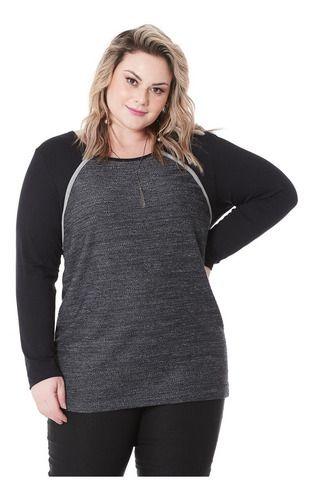 Blusa Feminina Nuvola Plus Size 101552