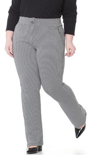 Calça Alfaiataria Feminina Plus Size 101501