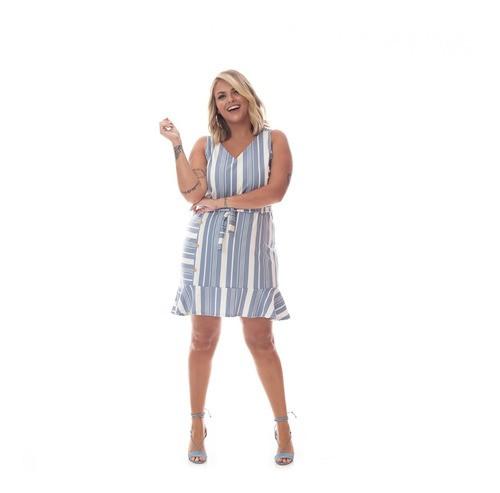 92565 Vestido Plus Size Feminino