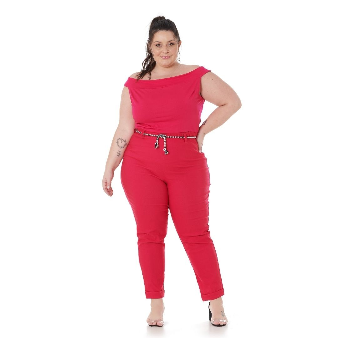 Blusa Ciganinha Plus Size 102569
