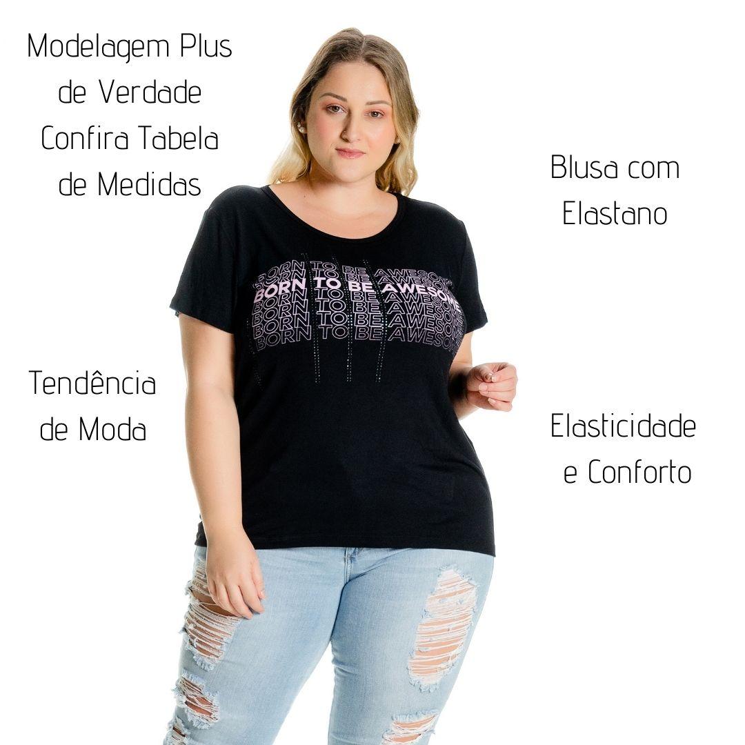Blusa com Estampa Awesome 102540