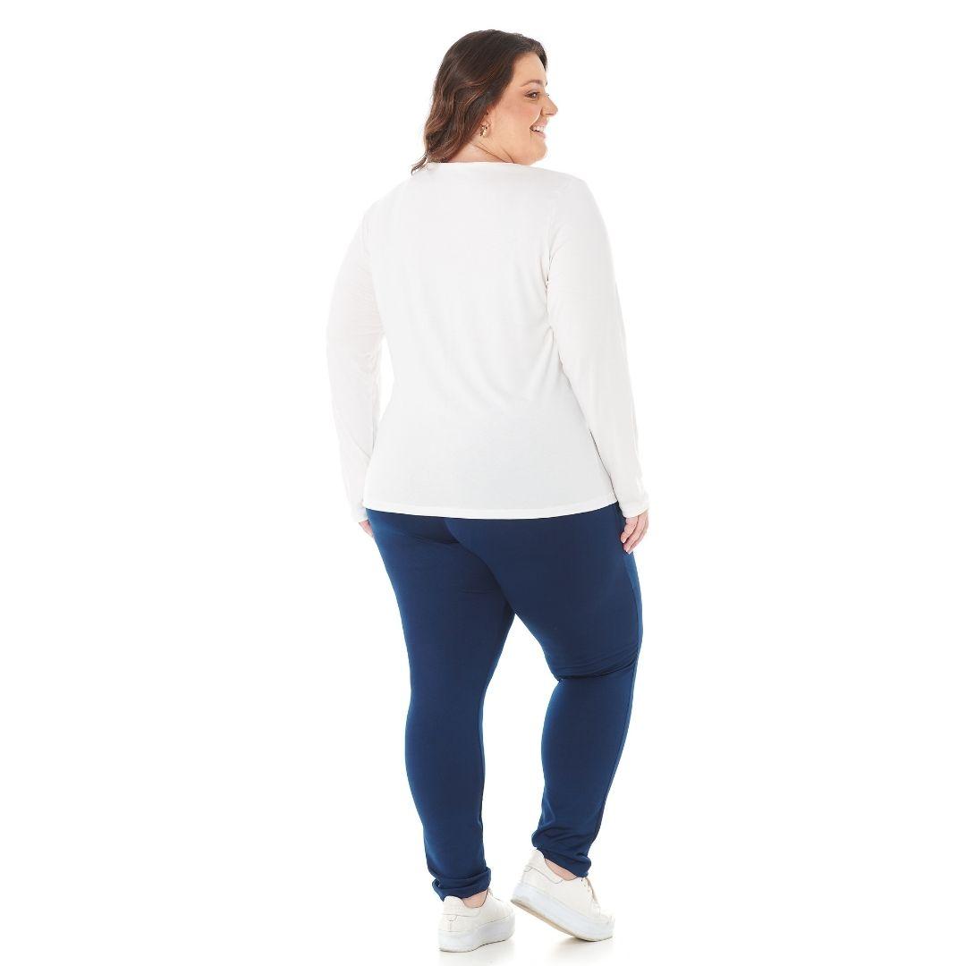 Blusa Feminina com Estampa P ao G2 - 1128-6