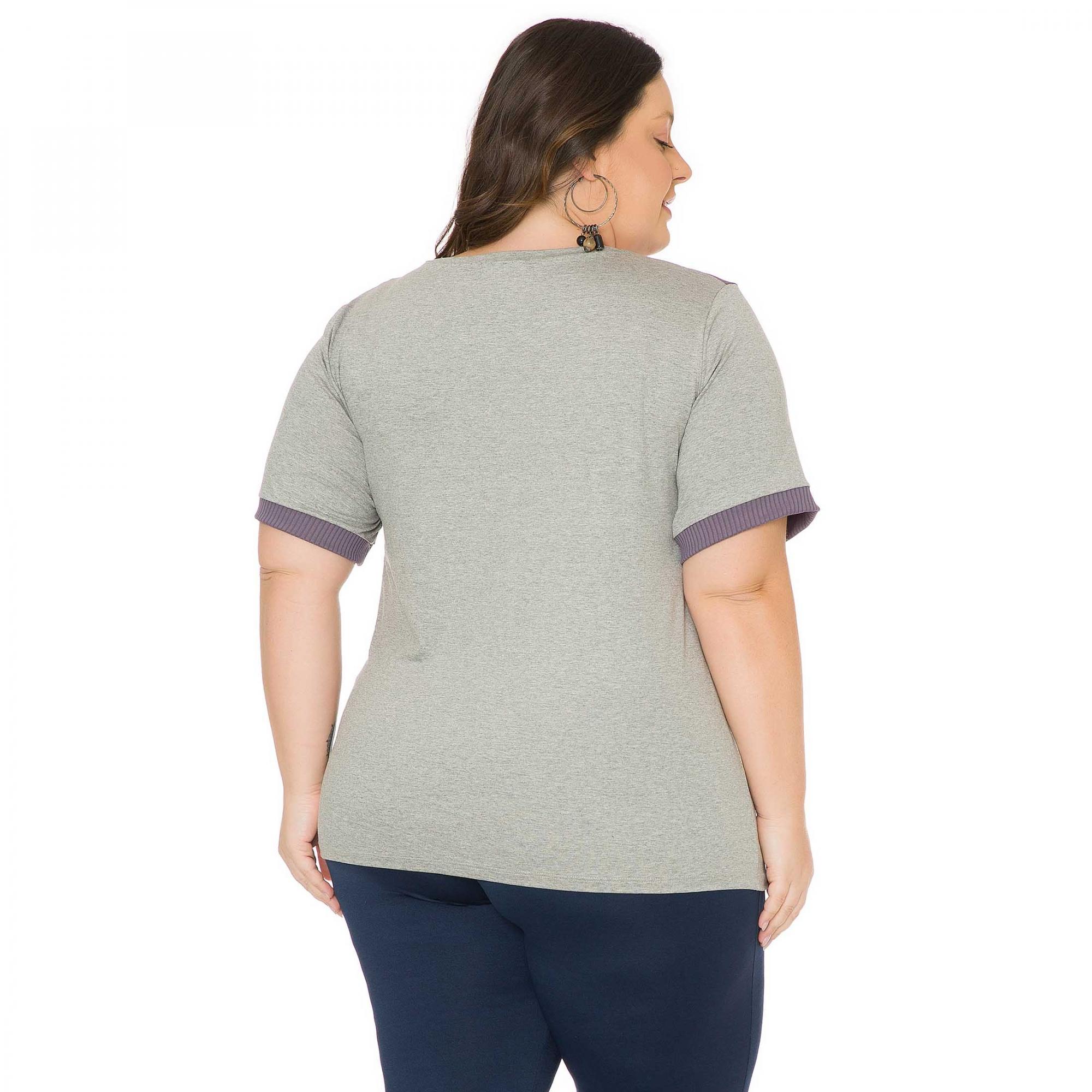 Blusa feminina Plus Size 103711
