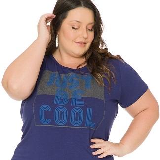 Blusa feminina Plus size com estampa 1115-1