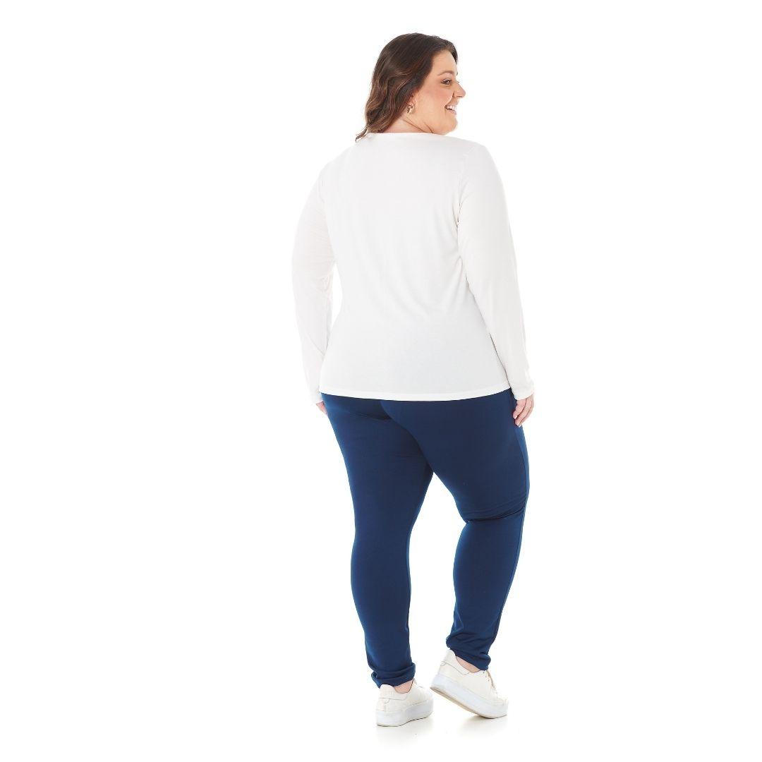 Blusa Feminina Plus Size com estampa See Good 1128-7
